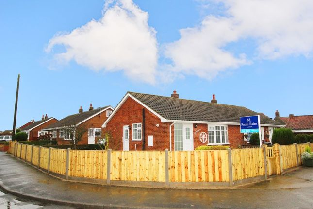 Thumbnail Bungalow for sale in Hollycroft, Barmston, Driffield