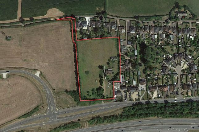 Aerial View of Site For 34 Properties, Exeter, Devon EX5