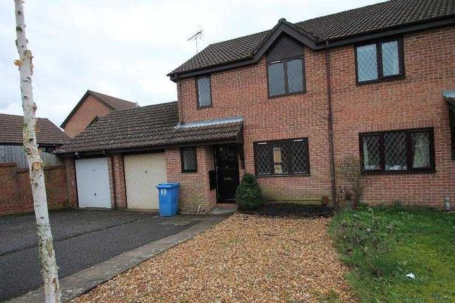 Thumbnail Semi-detached house to rent in Portesham Way, Poole
