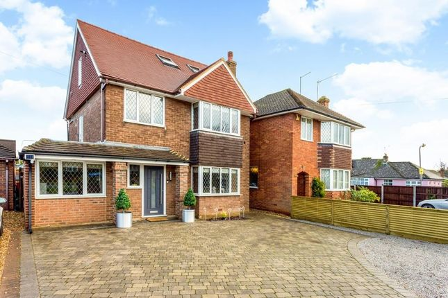 Thumbnail Detached house for sale in Crossways, Shenfield, Brentwood