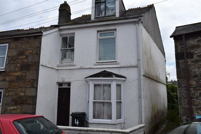 Thumbnail End terrace house for sale in Adelaide Street, Camborne