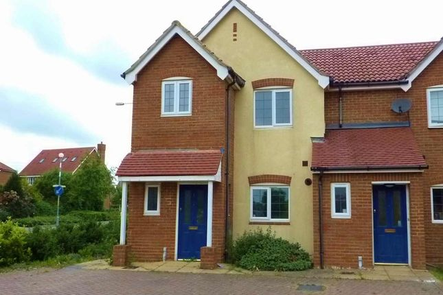 Thumbnail Semi-detached house to rent in Forum Way, Kingsnorth, Ashford
