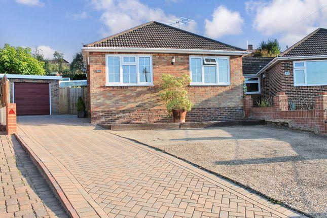 Thumbnail Detached bungalow for sale in Trent Way, West End, Southampton