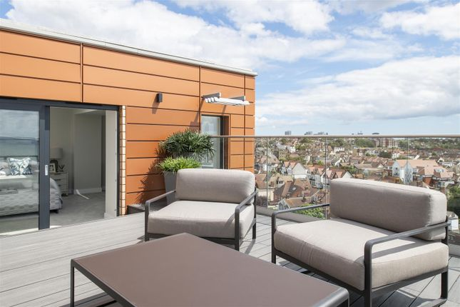 Roof Terrace of The Shore, The Leas, Chalkwell SS0