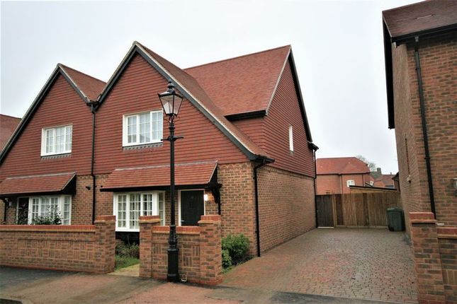 Thumbnail Semi-detached house to rent in Burnham Square, Upper Froyle, Alton