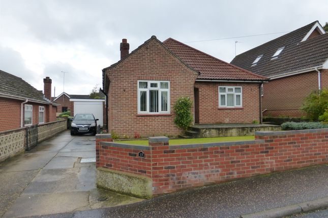 Thumbnail Detached bungalow for sale in West Road, New Costessey, Norwich