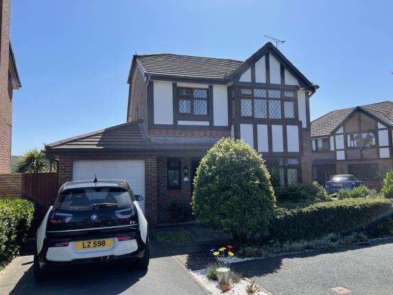 Thumbnail Detached house for sale in Rhys Evans Close, Penrhyn Bay, Llandudno, Conwy