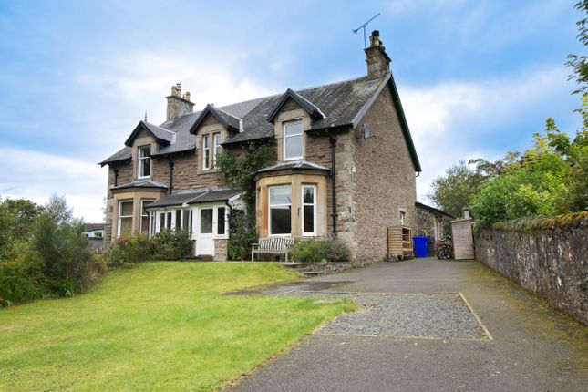Thumbnail Semi-detached house for sale in St Margarets Drive, Dunblane