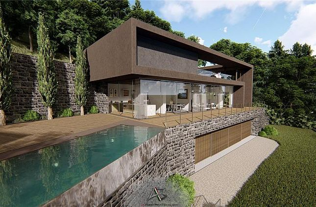 Off Plan Luxury Villa With Pool, Laglio, Lombardy, Italy
