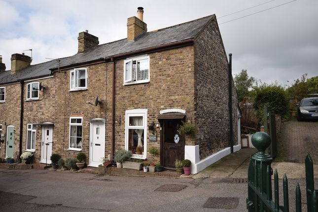 Thumbnail End terrace house for sale in Templar Road, Temple Ewell, Dover