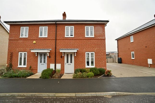Thumbnail Semi-detached house for sale in Lilianna Road, Colchester