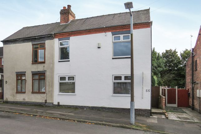 Thumbnail Semi-detached house for sale in Old Derby Road, Eastwood, Nottingham