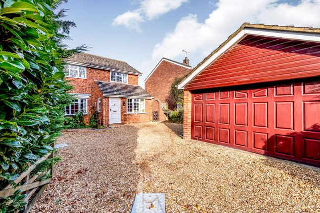Thumbnail Detached house to rent in Cotton End Road, Wilstead, Bedford
