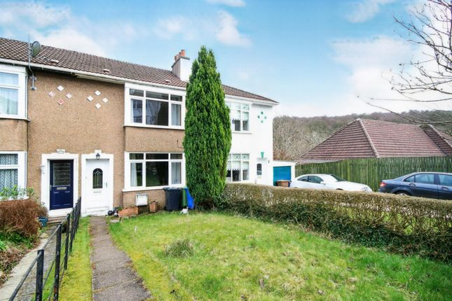 Thumbnail Terraced house for sale in Monteith Drive, Stamperland, Glasgow