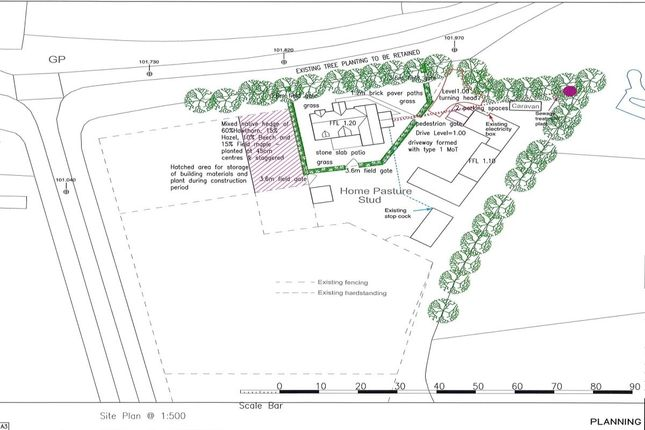 Thumbnail Land for sale in Top Road, Wimbish, Saffron Walden