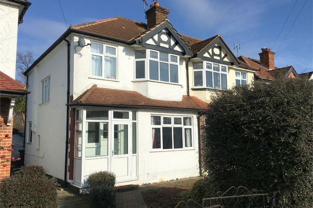 3 bed semi-detached house for sale in Northcroft Road, West Ewell, Epsom