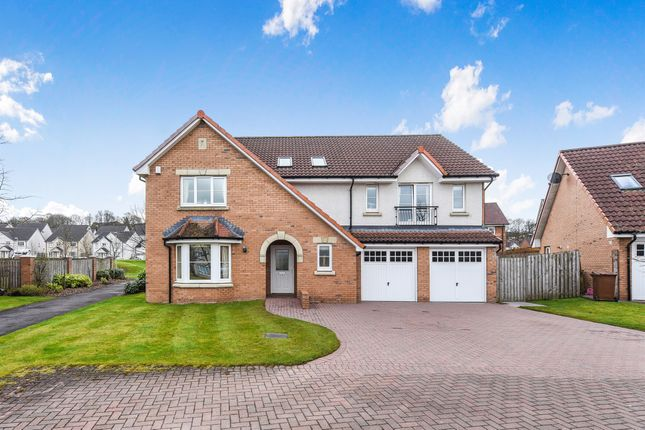 Thumbnail Detached house for sale in Cortmalaw Avenue, Robroyston, Glasgow