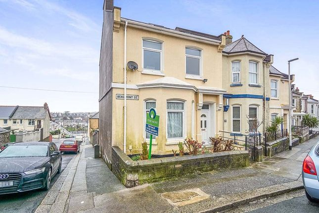 Thumbnail Semi Detached House For Sale In Beaumont Street Milehouse Plymouth