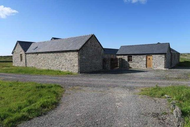 Thumbnail Detached house for sale in Barn Conversion, Cerrig Cynrig Farm, Holyhead