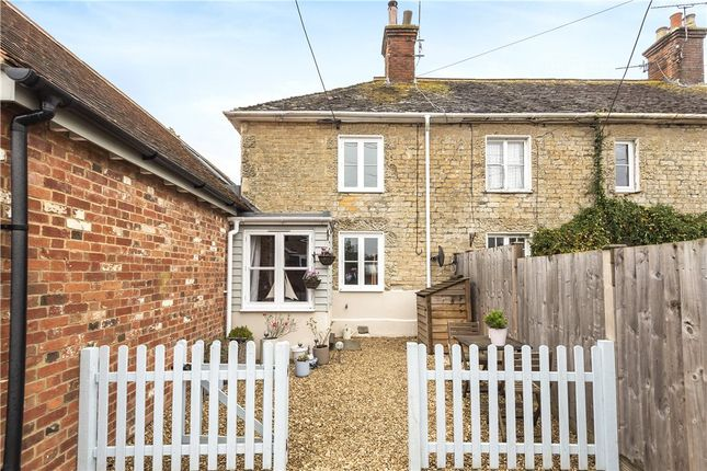 Thumbnail Terraced house for sale in Aplands, Gold Hill, Child Okeford, Blandford Forum