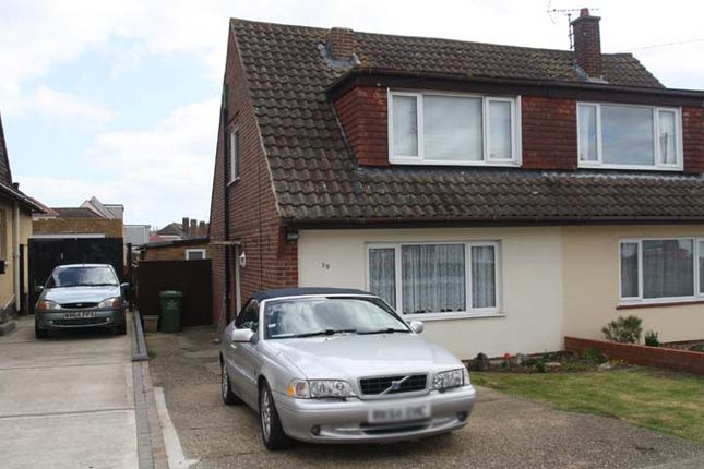 Thumbnail Semi-detached house for sale in Benfleet Park Road, Benfleet
