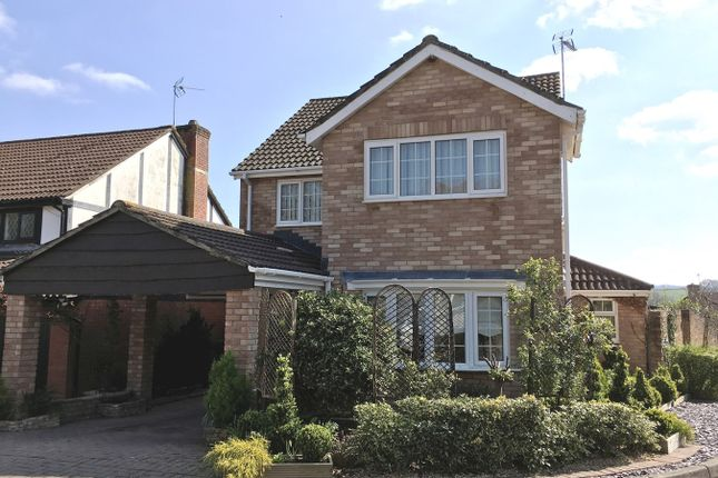 Thumbnail Detached house for sale in Adam Close, Usk