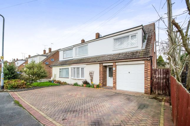 Thumbnail Semi-detached house for sale in Holly Way, Tiptree, Colchester