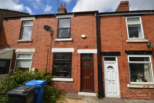 Thumbnail 2 bed terraced house for sale in Storforth Lane, Hasland, Chesterfield