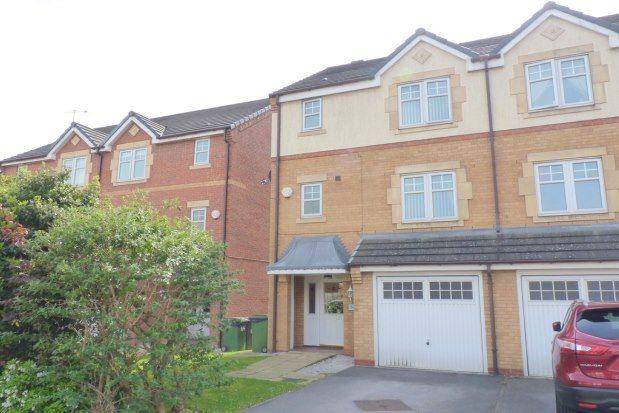 Thumbnail Semi-detached house to rent in Hampton Chase, Prenton