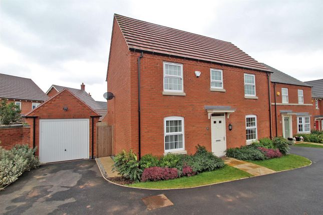 Thumbnail Detached house for sale in Wansbeck Close, Arnold, Nottingham
