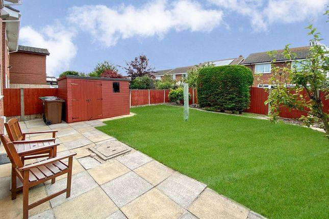 Garden At Back of Elvington Road, Hightown, Liverpool L38