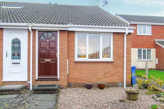 Thumbnail Terraced house for sale in Willow Close, Morpeth