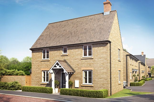 """Thumbnail Detached house for sale in """"Hadley"""" at Field Close, Longworth, Abingdon"""