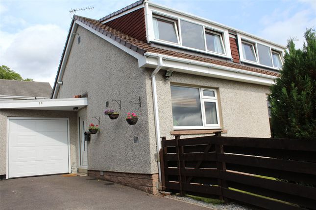 Thumbnail Semi-detached house to rent in Hollybank Crescent, Banchory, Aberdeenshire