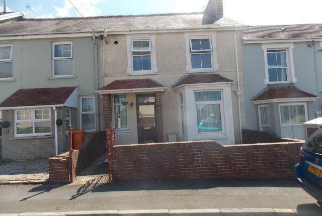 Thumbnail Terraced house for sale in Station Road, Bynea, Llanelli