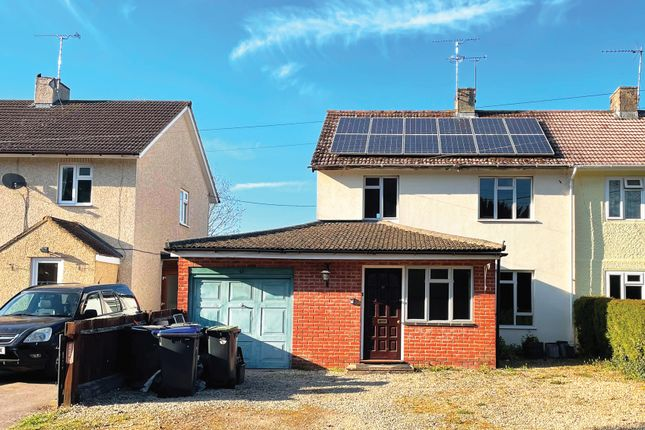 3 bed semi-detached house for sale in Orchard Cottages, Wylye, Warminster BA12