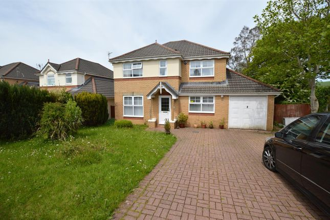 Thumbnail Detached house for sale in Parc Bryn Derwen, Llanharan, Pontyclun
