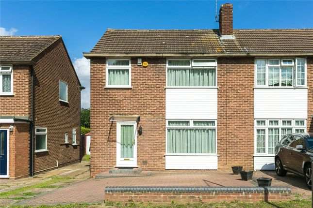 Thumbnail Semi-detached house for sale in Woodland Avenue, Hutton, Brentwood, Essex