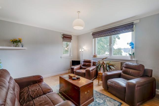 Living Room of Balvie Road, Milngavie, Glasgow, East Dunbartonshire G62