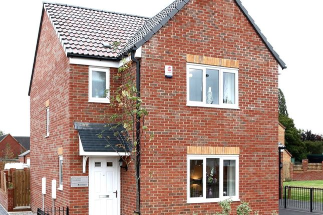 "Thumbnail Detached house for sale in ""The Hatfield"" at Church Hill Terrace, Church Hill, Sherburn In Elmet, Leeds"