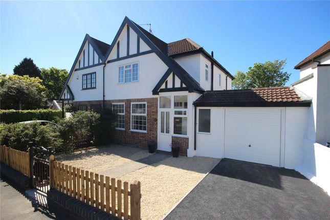 Thumbnail Semi-detached house for sale in Lake Road, Henleaze, Bristol