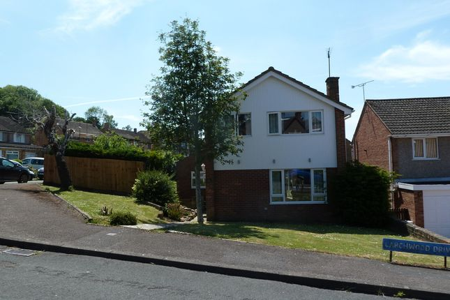 Thumbnail Detached house for sale in Larchwood Drive, Gloucester