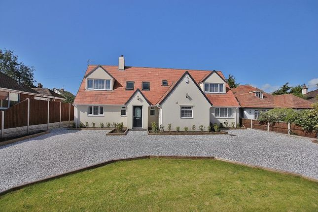 Thumbnail 4 bed detached house for sale in Barnston Road, Heswall, Wirral