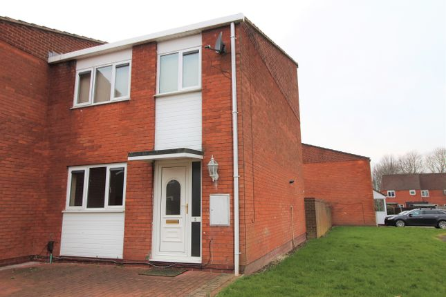 Thumbnail End terrace house to rent in Granary Road, Wolverhampton