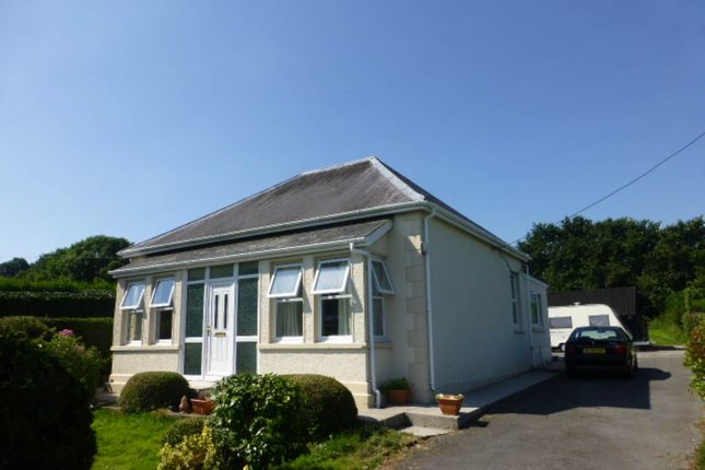 Thumbnail Bungalow to rent in Pontantwn, Kidwelly
