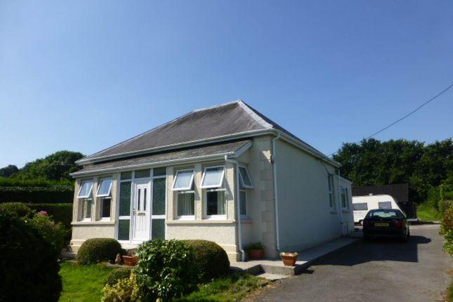 Thumbnail Bungalow to rent in Pontantwn, Kidwelly