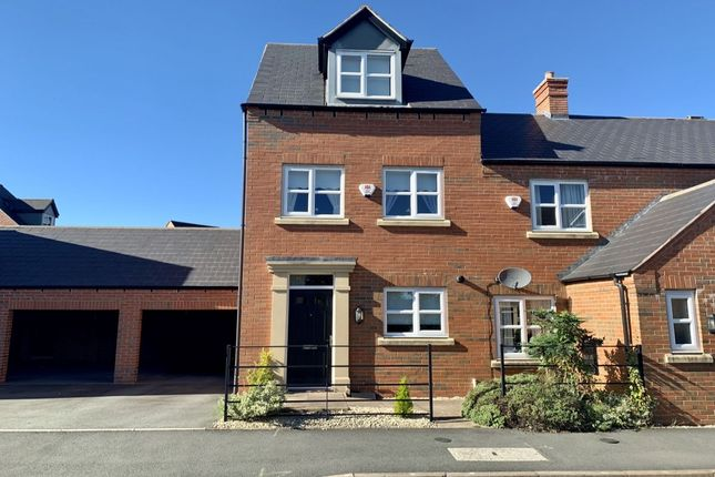 Thumbnail Terraced house for sale in Isherwoods Way, Wem, Shrewsbury