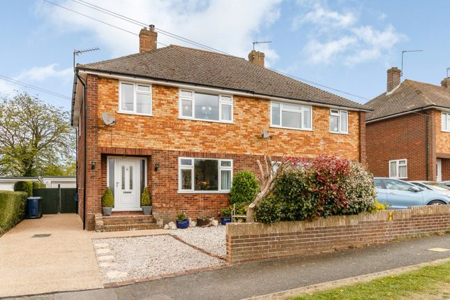 Thumbnail Semi-detached house for sale in Brackley Road, High Wycombe, Buckinghamshire