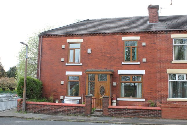 Thumbnail End terrace house for sale in Lord Street, Kearsley