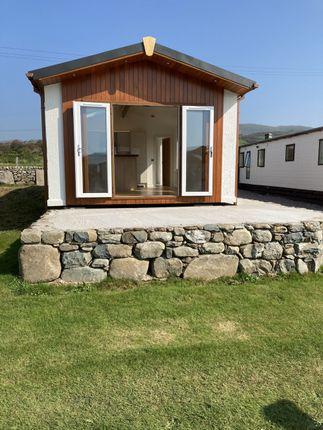 Thumbnail Lodge for sale in Tal Y Bont, Gwynedd